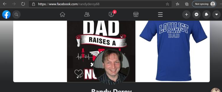 Randy's facebook